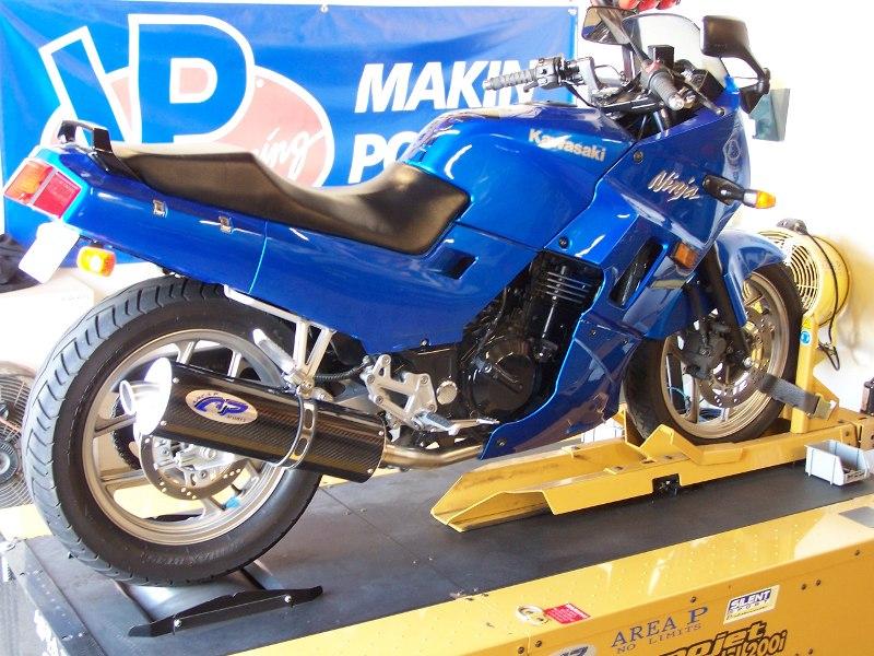 Kawasaki Ex250 Ninja Slip On Exhaust Area P No Limits