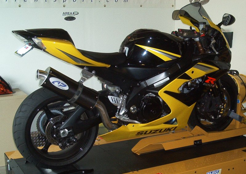 Suzuki GSX-R1000 Slip-On Exhaust - Area P :: No Limits