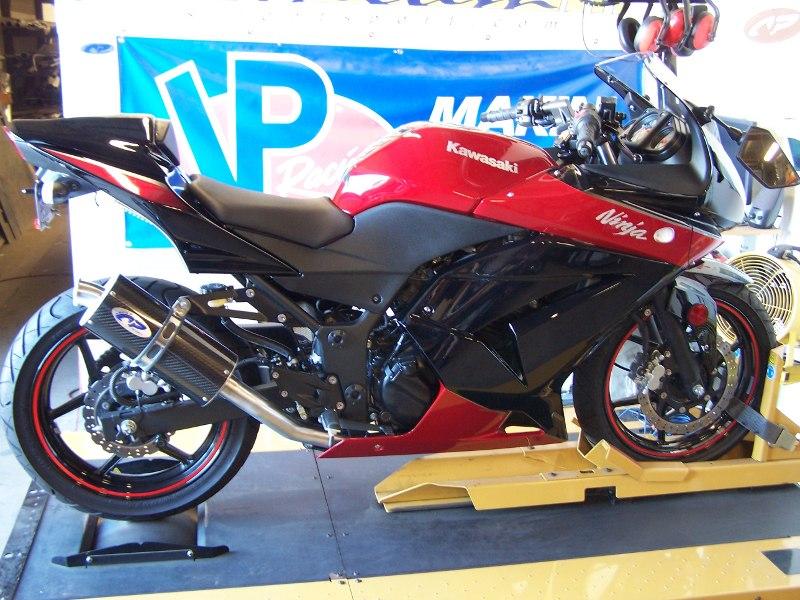 Kawasaki Ninja 250R Full Exhaust Carbon Fiber