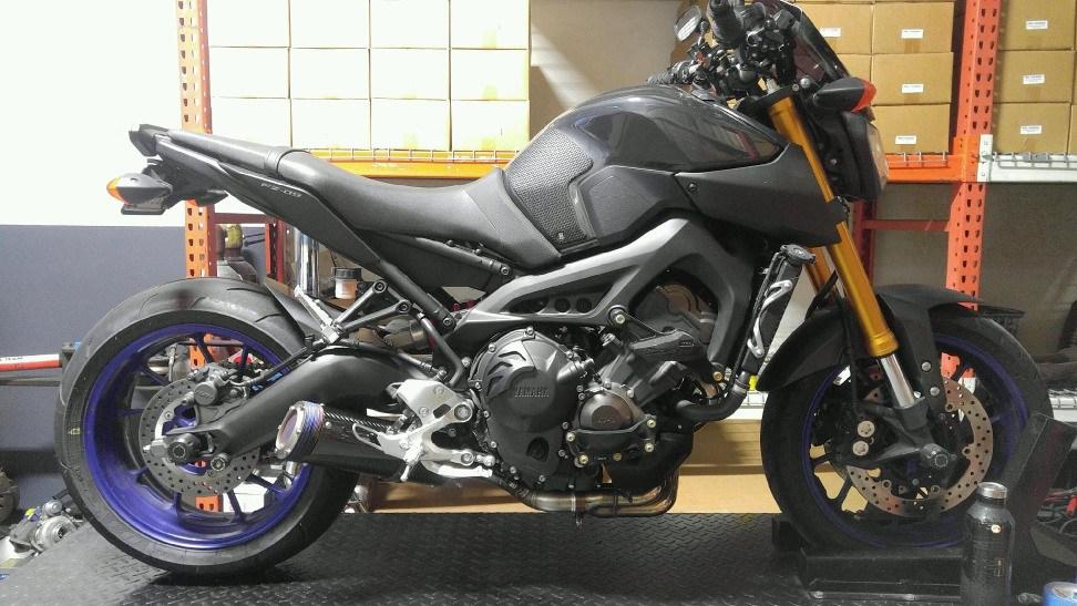 Yamaha FZ-09 E-Series - Area P :: No Limits
