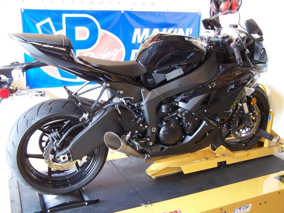 Kawasaki Zx 6r Slip On Exhaust Area P No Limits