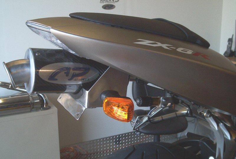 Kawasaki Zx 6r Zx 6rr Slip On Exhaust Area P No Limits